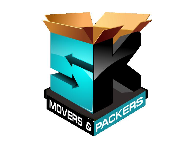 SK Movers & Packers Dubai Logo