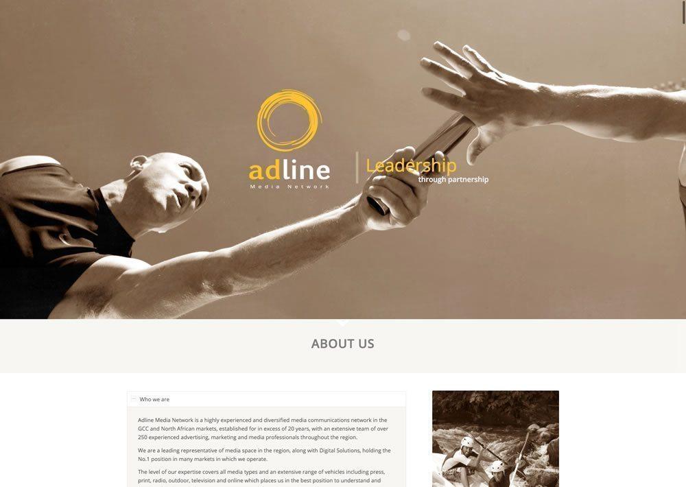 Adline website