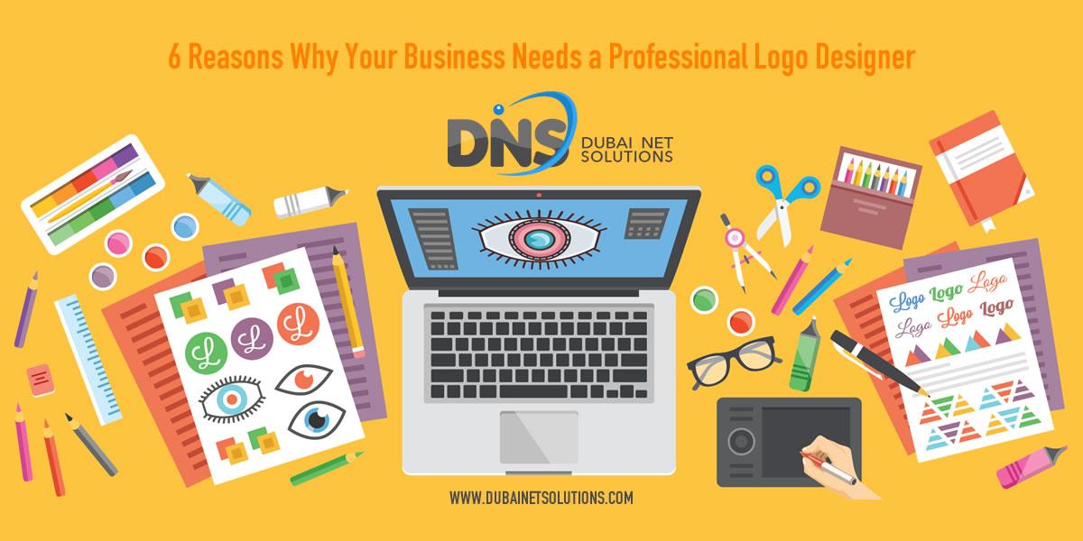 professional logo designer, 6 reasons
